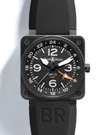 Bell & Ross(ベル&ロス) INSTRUMENT BR01-93 24H GMT(BR01-93 24H GMT)