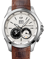 GIRARD-PERREGAUX(ジラール・ペルゴ) Traveller Large Date, Moon Phases & GMT(トラベラー ラージデイト, ムーンフェイズ & GMT)