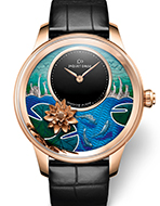JAQUET DROZ(ジャケ・ドロー) Petite Heure Minute Relief Carps(プティ・ウール ミニット レリーフ カープ)