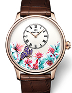 JAQUET DROZ(ジャケ・ドロー) Petite Heure Minute Butterfly Journey(プティ・ウール ミニット バタフライ・ジャーニー)