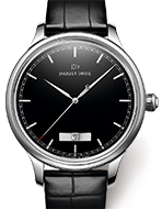JAQUET DROZ(ジャケ・ドロー) Grande Heure Minute Quantième Onyx(グラン・ウール ミニット カンティエーム オニキス)