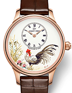 JAQUET DROZ(ジャケ・ドロー) Petite Heure Minute Rooster(プティ・ウール ミニット ルースター)