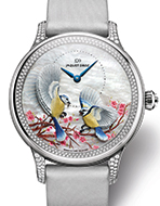 JAQUET DROZ(ジャケ・ドロー) Petite Heure Minute Relief Seasons Spring(プティ・ウール ミニット レリーフ シーズン スプリング)