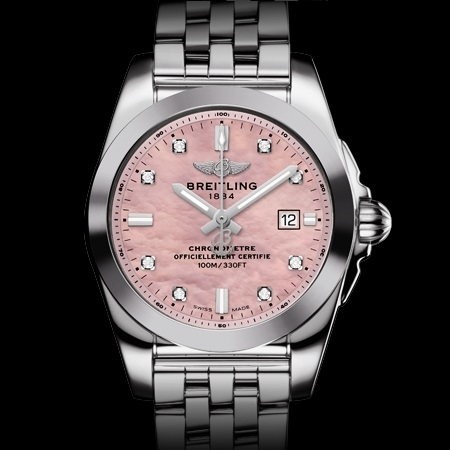 『BREITLING』  GALACTIC 29 SLEEK T PINK MOTHER OF PEARL ギャラクティック 29 スリークT ピンク マザー オブ パール
