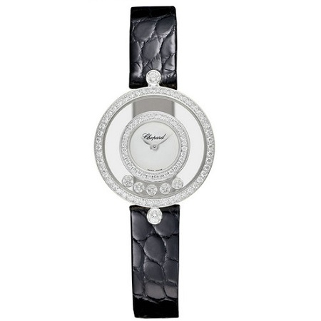 『Chopard』 Happy Diamonds Icons watch 203957-1201 ハッピーダイヤモンド k18