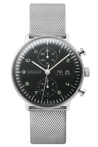 max bill by junghans chronoscope 027 4500.45