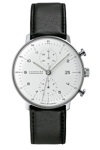 max bill by junghans chronoscope 027 4800.00