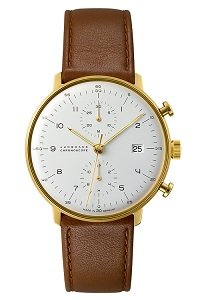 max bill by junghans chronoscope 027 7800.00