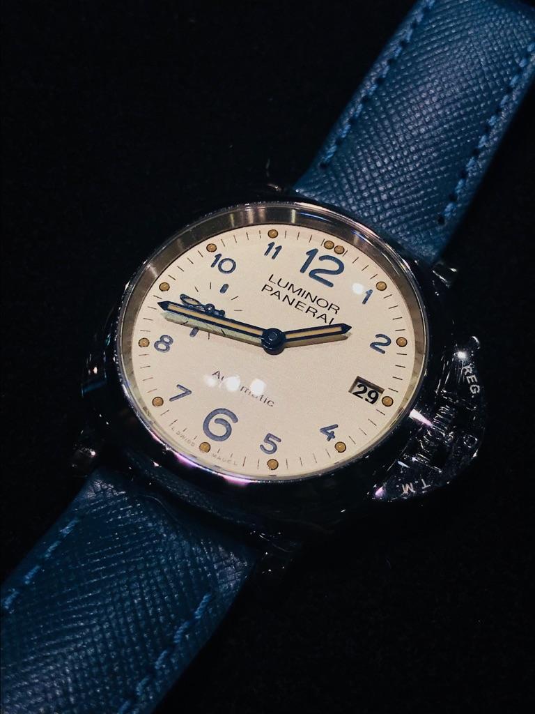 abcc4d7ae パネライ(PANERAI) ルミノール ドゥエ 3デイズ アッチャイオ 38MM LUMINOR DUE 3 DAYS ACCIAIO 38MM    ブランド腕時計の正規販売店紹介サイトGressive/グレッシブ