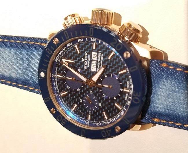 1e7da98dc エドックス(EDOX) クロノオフショア1 岡山デニムモデル   ブランド腕時計の正規販売店紹介サイトGressive/グレッシブ