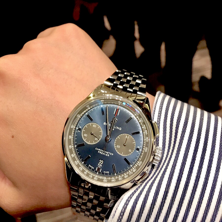 huge selection of a9160 76fea ブライトリング(BREITLING) プレミエ | ブランド腕時計の正規 ...