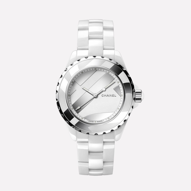 size 40 ef76e eb99b シャネル(CHANEL) J12 アンタイトル 白 H5582 | ブランド腕時計 ...