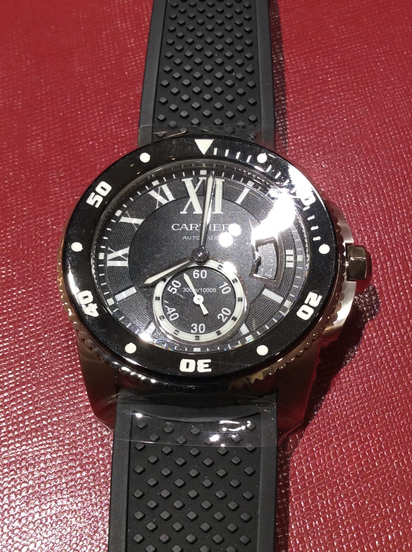 cfff95ec34 カルティエ(Cartier) カリブル ドゥ カルティエ ダイバー ウォッチ Calibre de Cartier Diver watch |  ブランド腕時計の正規販売店紹介サイトGressive/グレッシブ