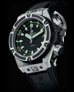 quality design f6467 f3090 ウブロ(HUBLOT) キングパワー ダイバー4000チタニウム ...