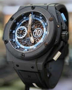 big sale 9b788 148be ウブロ(HUBLOT) キング・パワー マラドーナ | ブランド腕時計の ...