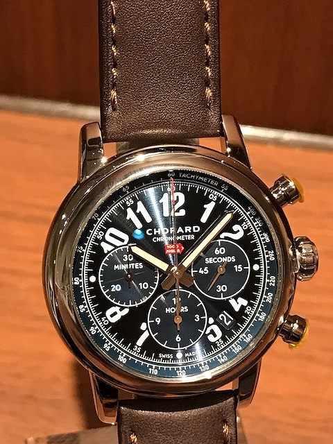 low priced a75cb a71f6 ショパール(CHOPARD) ミッレミリア クラシッククロノグラフ ...