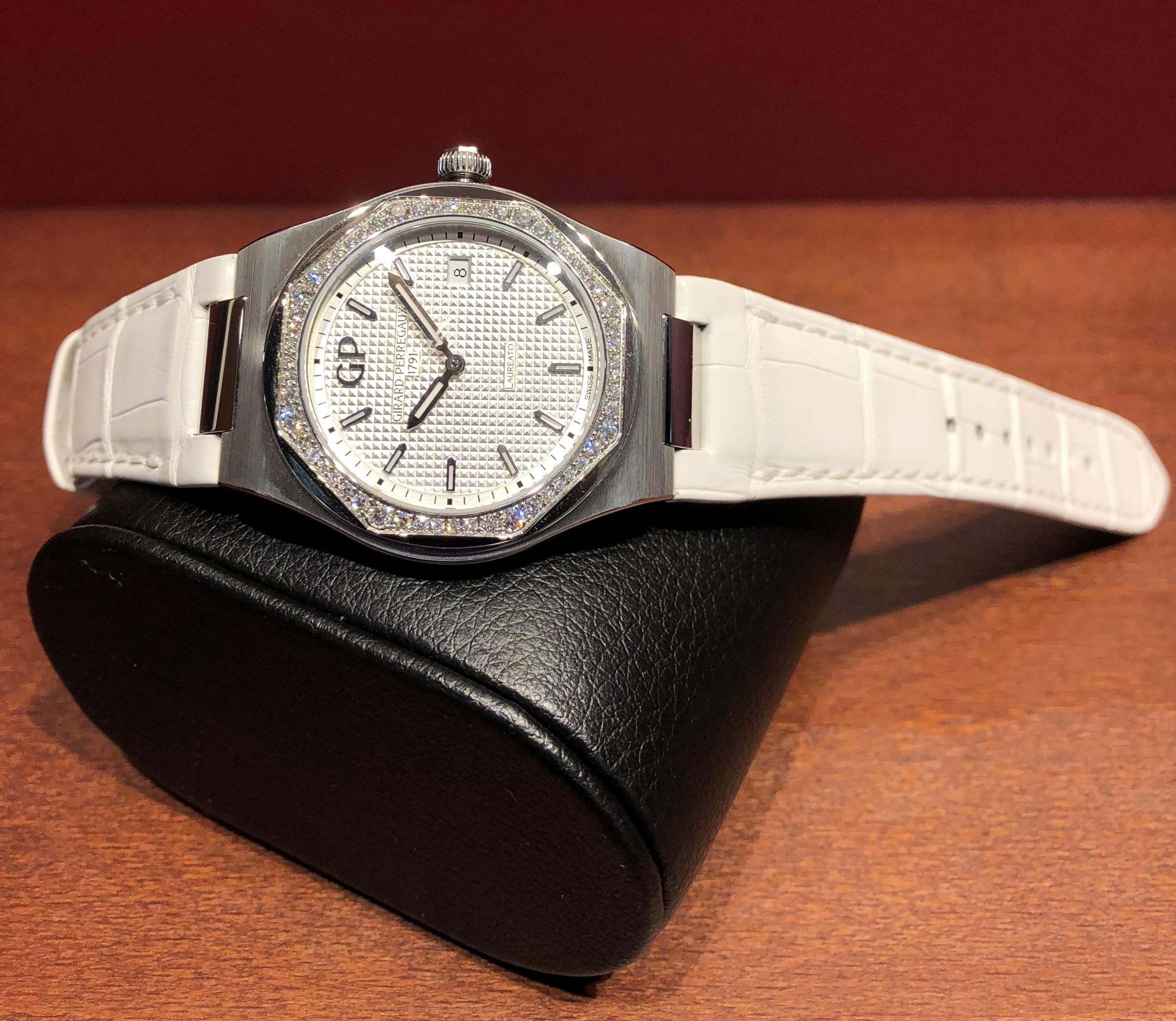 b51f7f1f5 ジラール・ペルゴ(GIRARD-PERREGAUX) ロレア―ト34MM   ブランド腕時計の正規販売店紹介サイトGressive/グレッシブ