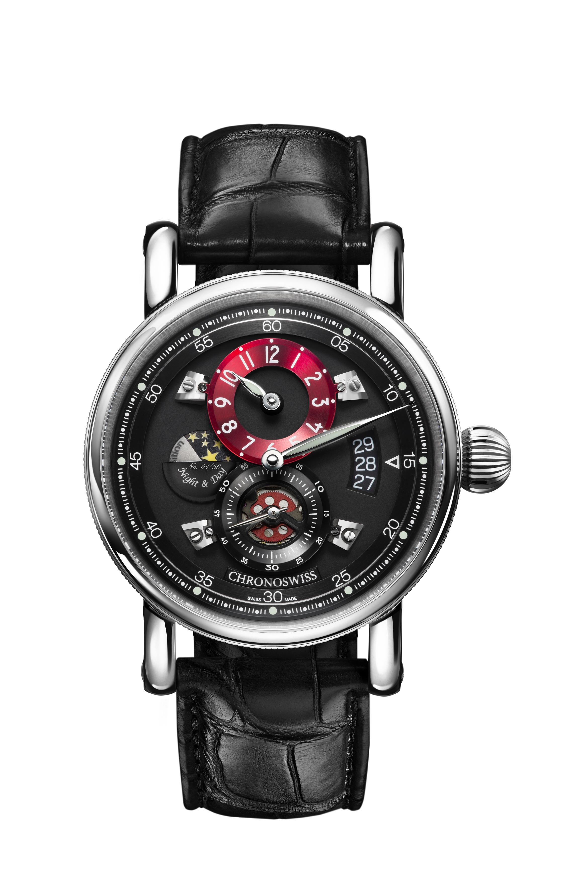 99bebb83f7 クロノスイス(CHRONOSWISS) フライングレギュレーター ナイト&デイ   ブランド腕時計の正規販売店紹介サイトGressive/グレッシブ