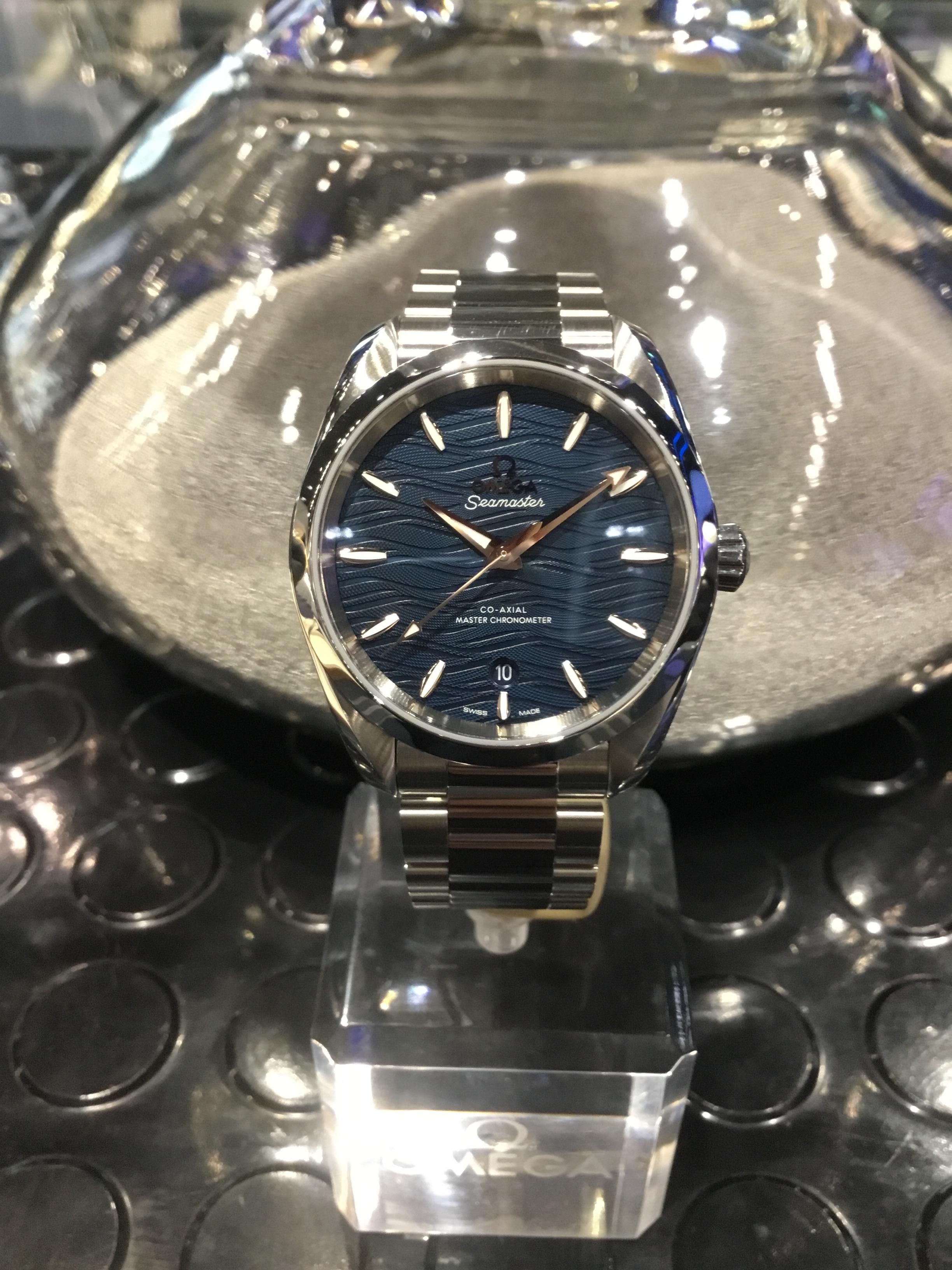 huge inventory ac610 00046 オメガ(OMEGA) 【Seamaster Aqua Terra 150M 38mm】 | ブランド ...