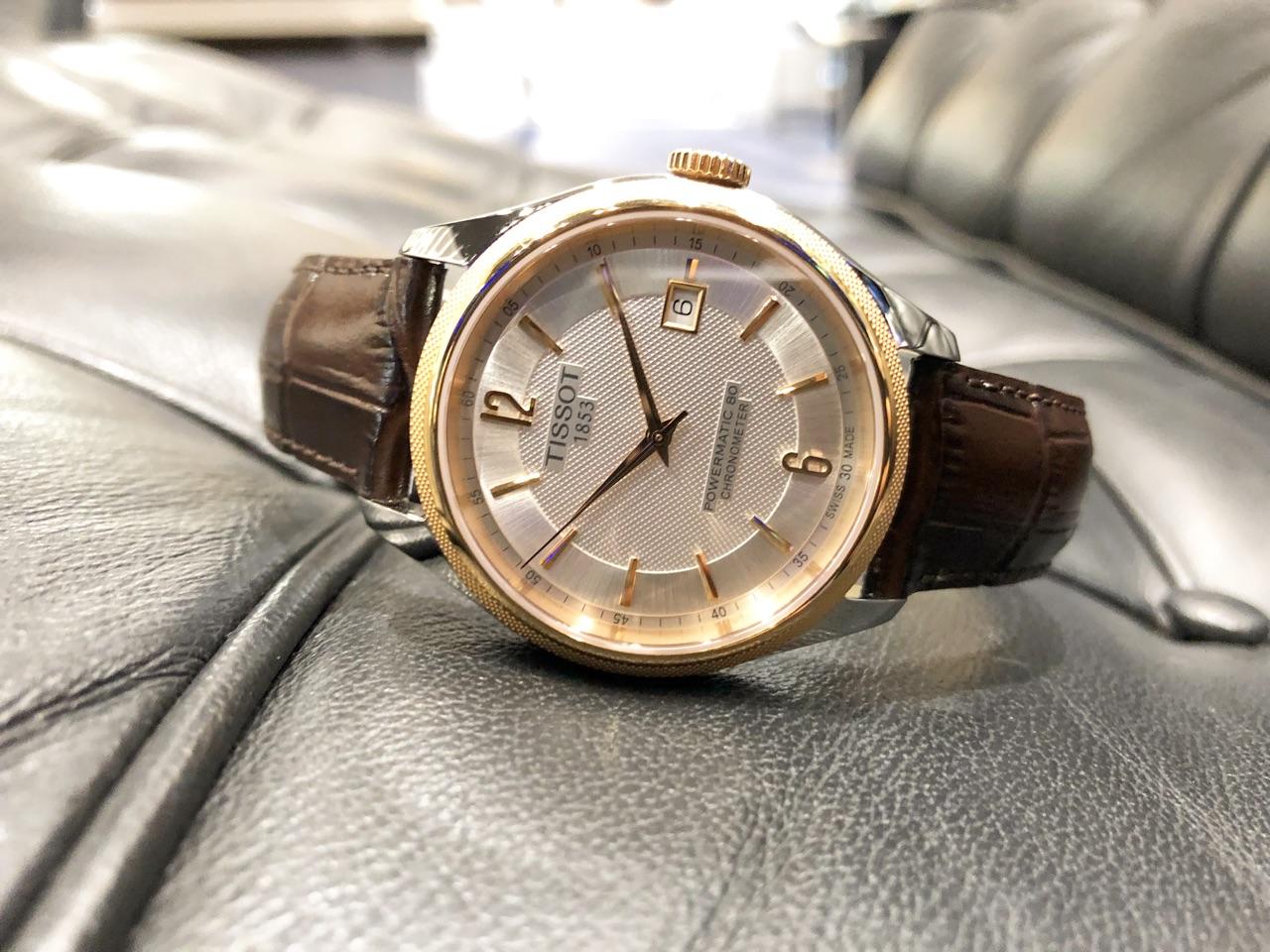 more photos ae1f0 8144b ティソ(TISSOT) BALLADE | ブランド腕時計の正規販売店紹介 ...
