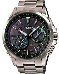 40eb9e20f1 CASIO カシオ オシアナス GPSハイブリッド 限定500本 グリーン OCW-G1000-1A2JF