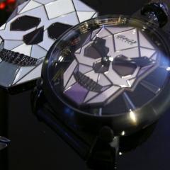 70a66d5fd7 ガガ ミラノ(GaGa MILANO) MANUALE BIONIC SKULL   ブランド腕時計の正規 ...