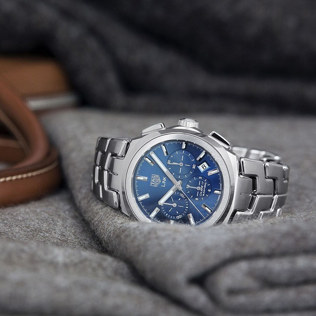 new arrivals 8d0be 4e22e タグ・ホイヤー(TAG Heuer) リンク キャリバー17クロノグラフ ...