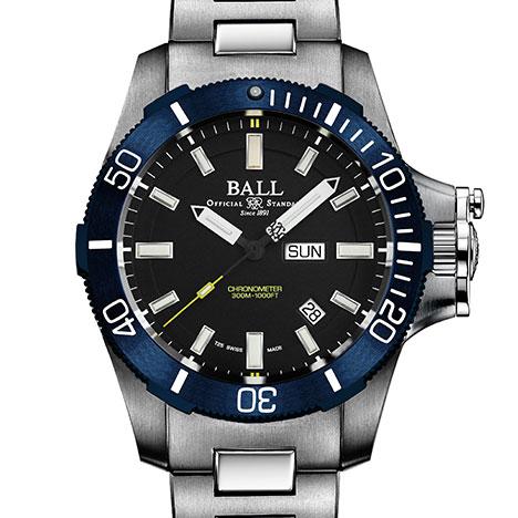 ボール サブマリン ウォーフェア ブルー PVD (BALL Submarine Warfare Blue PVD)