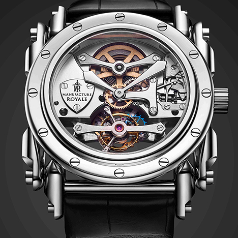 MANUFACTURE ROYALE  Androgyne Pure Steel | マニュファクチュール・ロワイヤル アンドロジーン ピュア・スティール