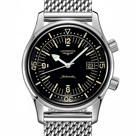 The Longines Legend Diver Watch(ロンジン レジェンド ダイバー)
