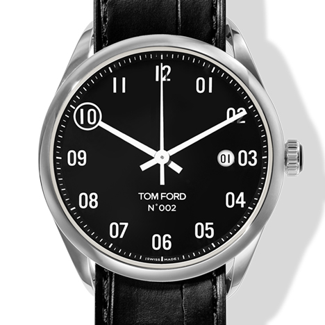 N.002 AUTOMATIC POLISHED STAINLESS STEEL CASE BLACK DIAL(N.002 オートマチック ポリッシュド ステンレススティールケース ブラックダイアル)
