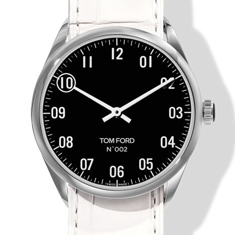 N.002 POLISHED STAINLESS STEEL CASE BLACK DIAL(N.002 ポリッシュド ステンレススティールケース ブラックダイアル)