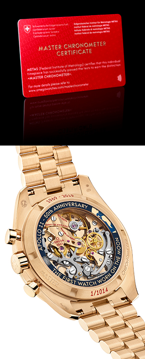OMEGA(オメガ) 2019新作「スピードマスター アポロ11号 50周年記念 リミテッドエディション」