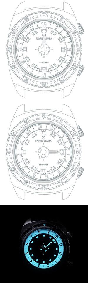 銛を名前に冠する、一本の分針が特徴的なファーブル・ルーバの新作「レイダー・ハープーン42」