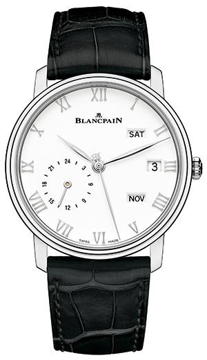 BLANCPAIN(Blancpain)当代和经典之美。 Wille年历GMT钢
