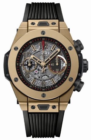 "HUBLOT(Hublot)Baselworld预览2015""Big Bang Unico Full Magic Gold""采用世界上唯一的防刮金"