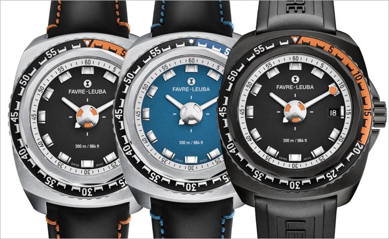 レトロフューチャーデザインの機械式腕時計「レイダー・ディープブルー」に新モデル登場