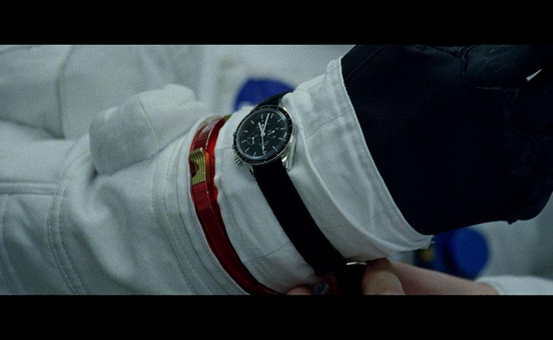 "OMEGA(オメガ) 映画「ファースト・マン」のスクリーンにオメガの時計が""着陸"""