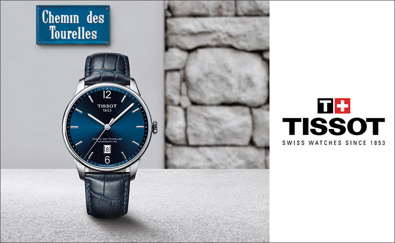 1322d2b8d3 TISSOT(ティソ) イノベーションがたどった軌跡。Tissot Chemin des Tourelles. スイス時計産業の中心地 ル・ ...