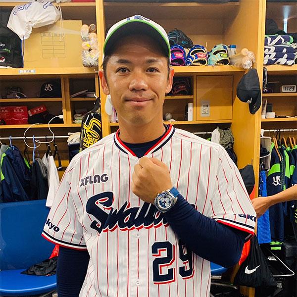 ファーブル・ルーバのアンバサダー小川泰弘投手(東京ヤクルトスワローズ)がノーヒットノーランを達成