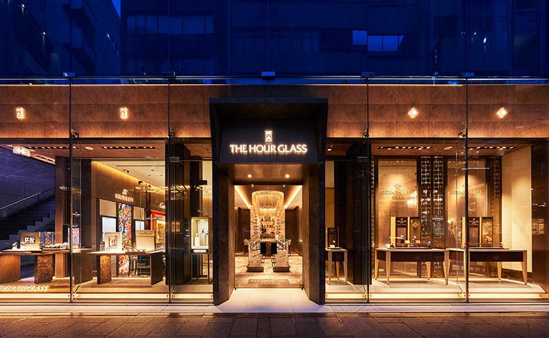 美しい時計が揃った銀座屈指の名店「アワーグラス銀座店」がリニューアル