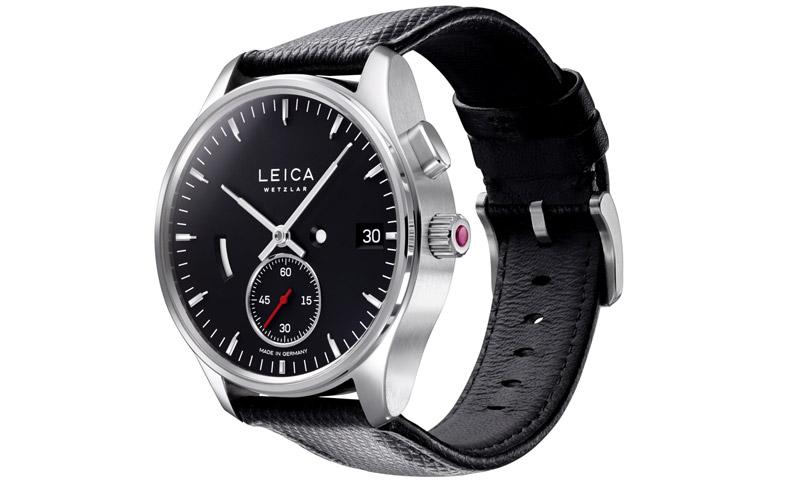 new concept 24a45 70b20 ドイツの高級カメラメーカー「ライカ」が作った本格機械式時計 ...