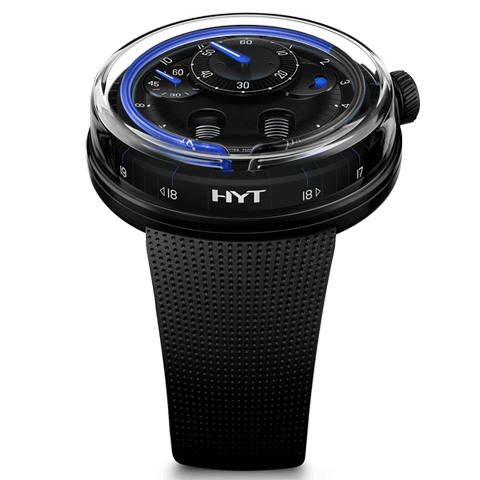 ハイドロ メカニカル ホロロジスト HYT H0 BLUE NIGHT 048-DL-93-BF-RU