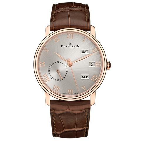 ブランパン BLANCPAIN アニュアルカレンダー GMT 6670A-3642-55B