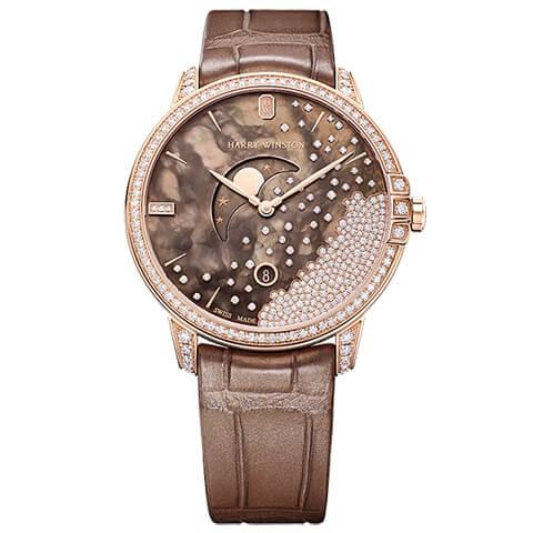 ハリー・ウィンストン HARRY WINSTON HW ミッドナイトチョコレート ダイヤモンド・ドロップ39m MIDQMP39RR004