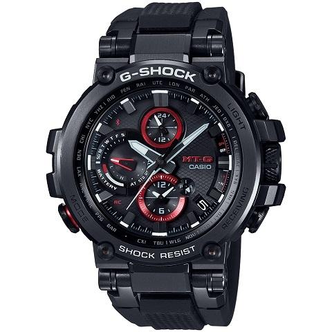 ジーショック CASIO カシオ G-SHOCK MT-G Bluetooth 搭載 電波ソーラー (メタルベゼル) MTG-1200-1AJF