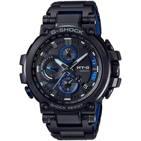 ジーショック CASIO カシオ G-SHOCK MT-G Bluetooth 搭載 電波ソーラー (メタルベゼル) MTG-B1000BD-1AJF