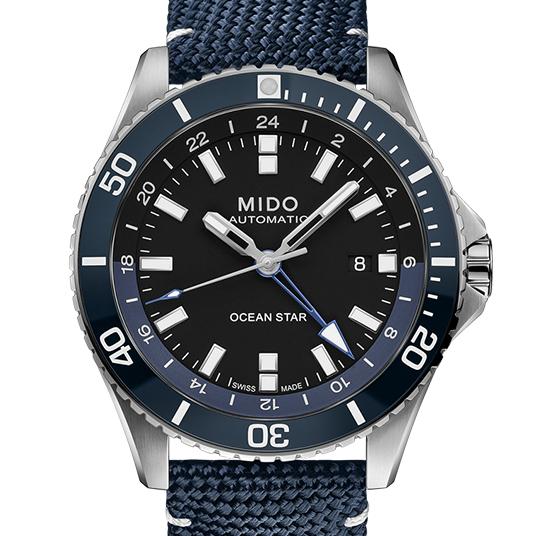 2020年 ミドー新作 オーシャンスター GMT | ブランド腕時計の正規販売 ...