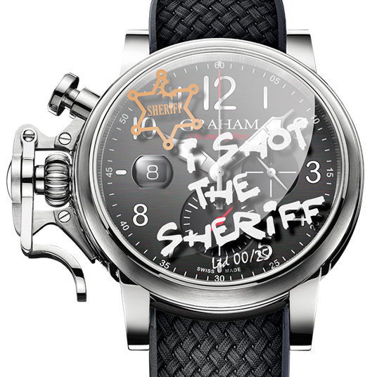 "クロノファイター グランド ヴィンテージ ""I Shot the Sheriff""(Chronofighter Grand Vintage ""I Shot the Sheriff"")"