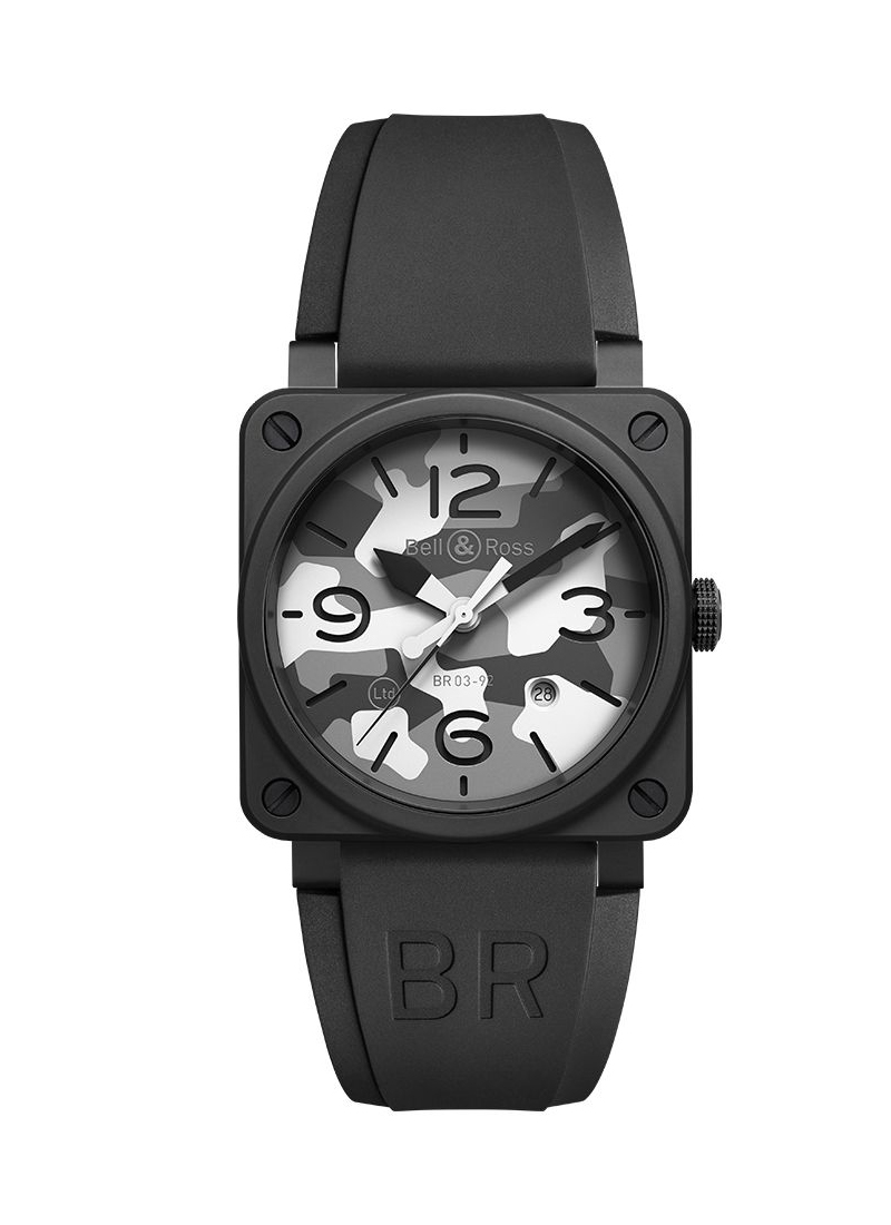 【Bell&Ross/ベル&ロス】2020年新作 WHITE CAMO 限定